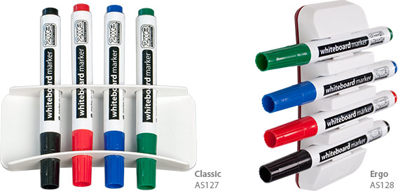 Magnetic holders for markers
