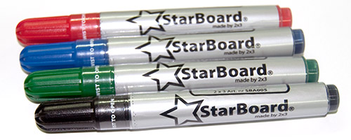 StarBoard dry-wipe markers