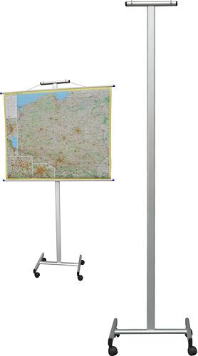 Stojak-wieszak na mapy i plansze