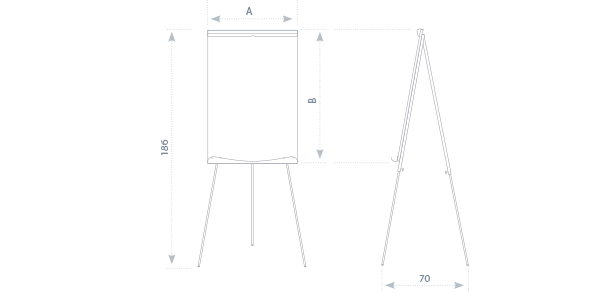 Ecoboards Flipchart Easels 2 215 3 S A