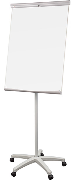 ecoBoards mobile flipchart (base with casters)