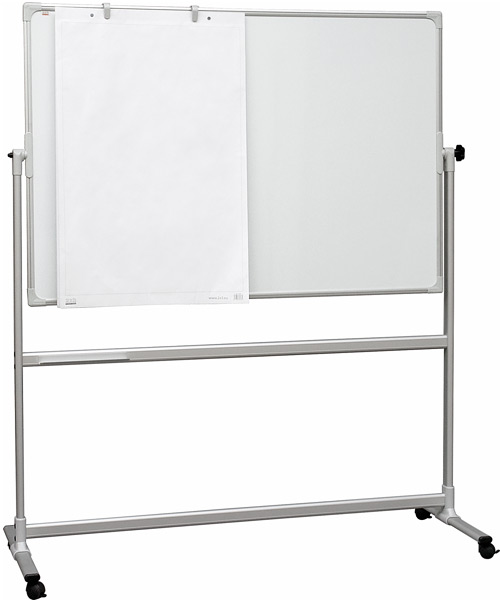 pivoting magnetic whiteboard