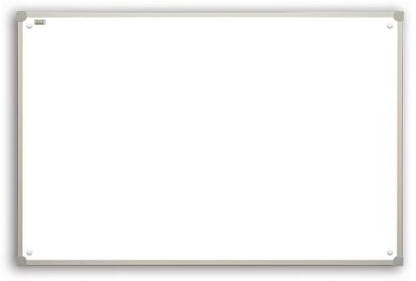 Whiteboard in aluminum frame C-line