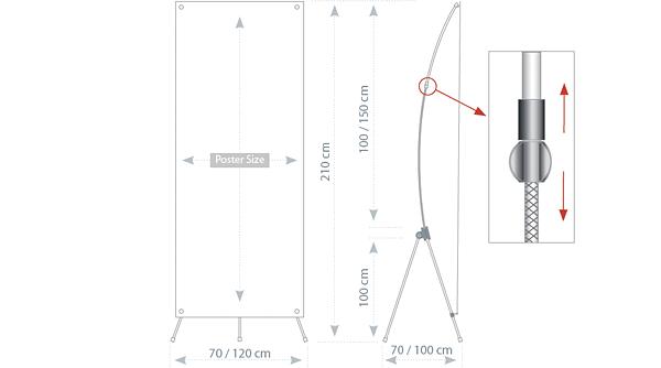 UXB - tech. drawing - dimensions