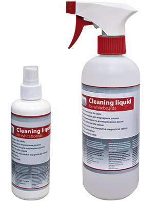 Whiteboard cleaning liquid