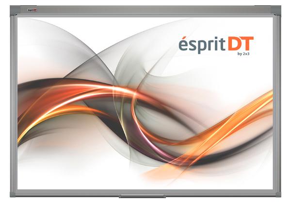 Tablica interaktywna 2x3 ésprit DT. Technologia optyczna