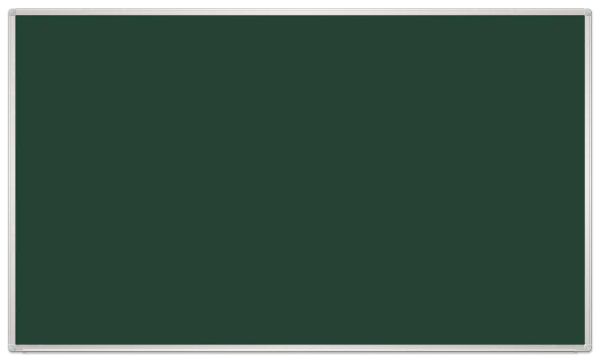 Tablica szkolna kredowa magnetyczna - w ramie aluminiowej UKF