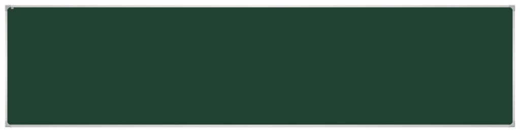 Tablica akademicka w ramie aluminiowej GTO. Powierzchnia kredowa magnetyczna (ceramiczna - dożywotnia gwarancja). Wymiar: 500 x 120 cm.
