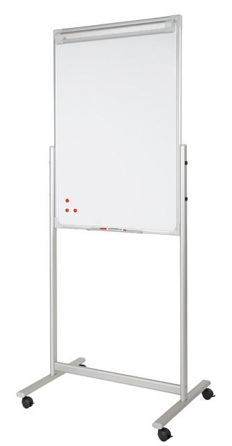 Flipchart mobilny z dwustronną tablicą
