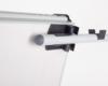 Flipchart Classic. Obejma na ramiê boczne (na dodatkowy arkusz papieru), które zosta³o wystawione (widok z ty³u).