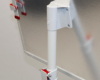 Mocowanie tablicy do kolumny nośnej we flipcharcie mobilnym Red Series
