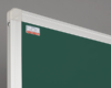 Tablica szkolna kredowa obrotowo-jezdna, w ramie aluminiowej UKF